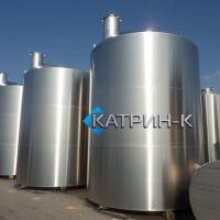 Резервуар вертикальный  с плоским днищем 2.500 - 150.000 литров