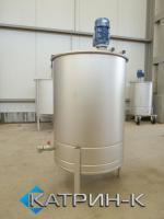 Резервуары и емкости с мешалкой 90-1200 литров