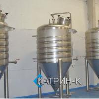 Резервуары с рубашкой 1.500 литров